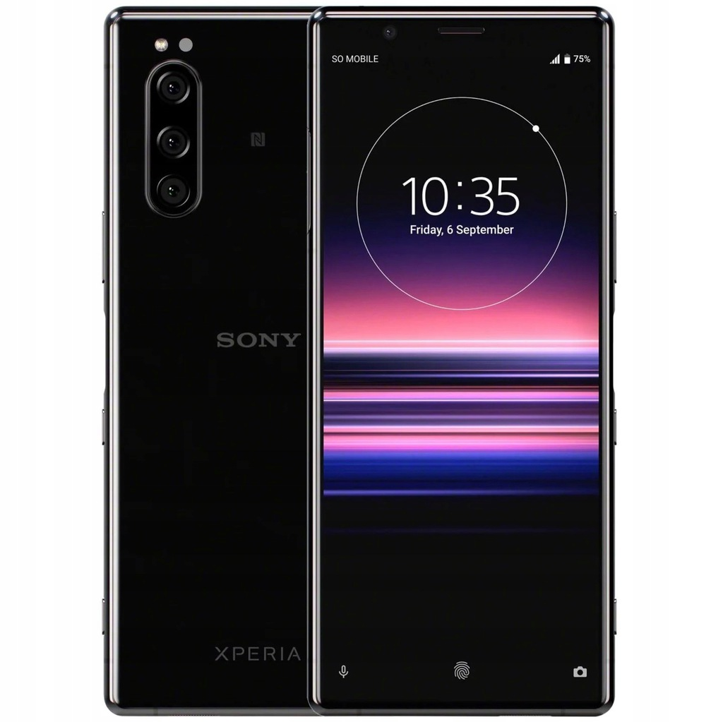 Sony Xperia 5 6/128GB IP65/68 OLED Black (PL)