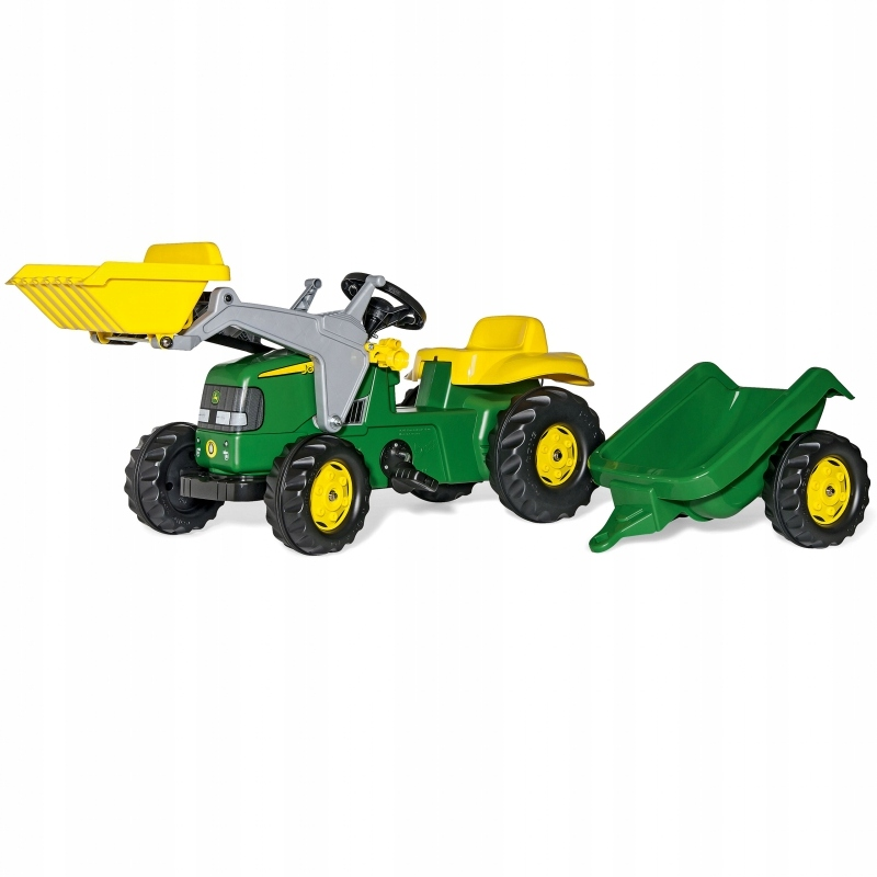 Rolly Toys Traktor na pedały John Deere z łyżką i