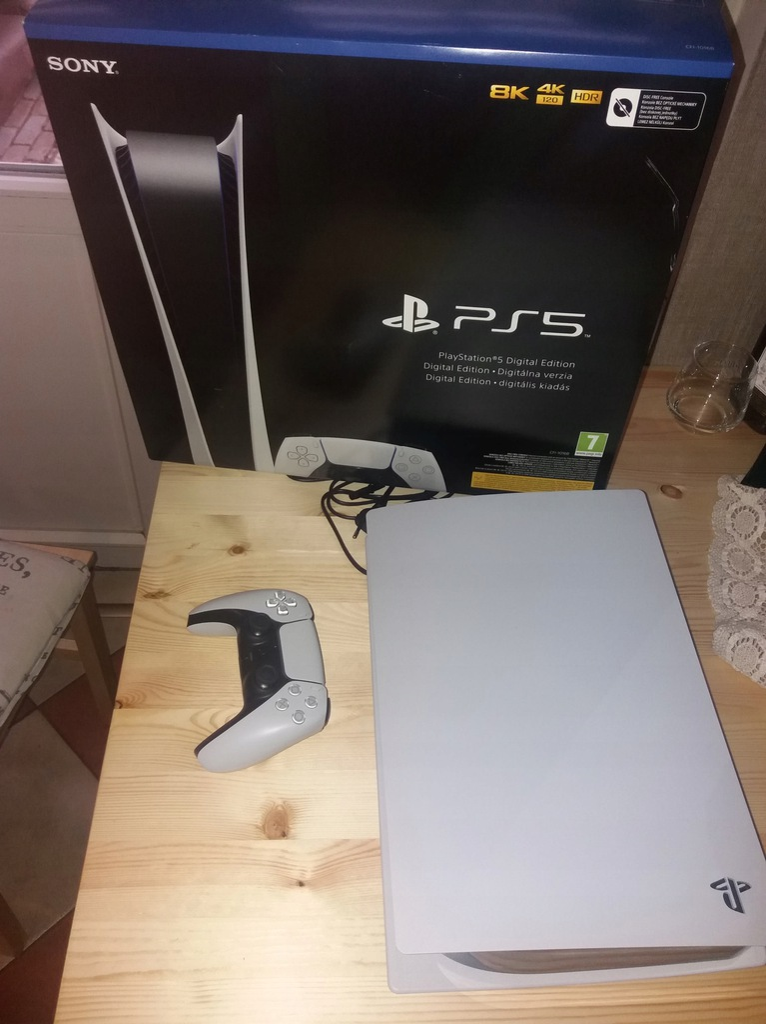 PlayStation 5 Digital IDEAŁ GWARANCJA SŁUCHAWKI