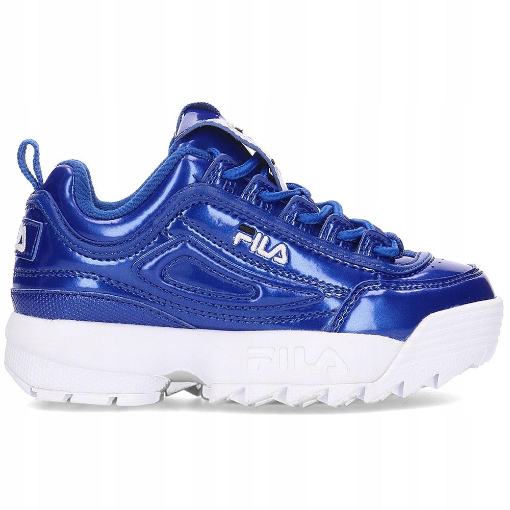 FILA Disruptor Sneakersy Niebieskie R.30