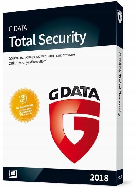 G Data Total Protection 2 PC 2 ROK BOX