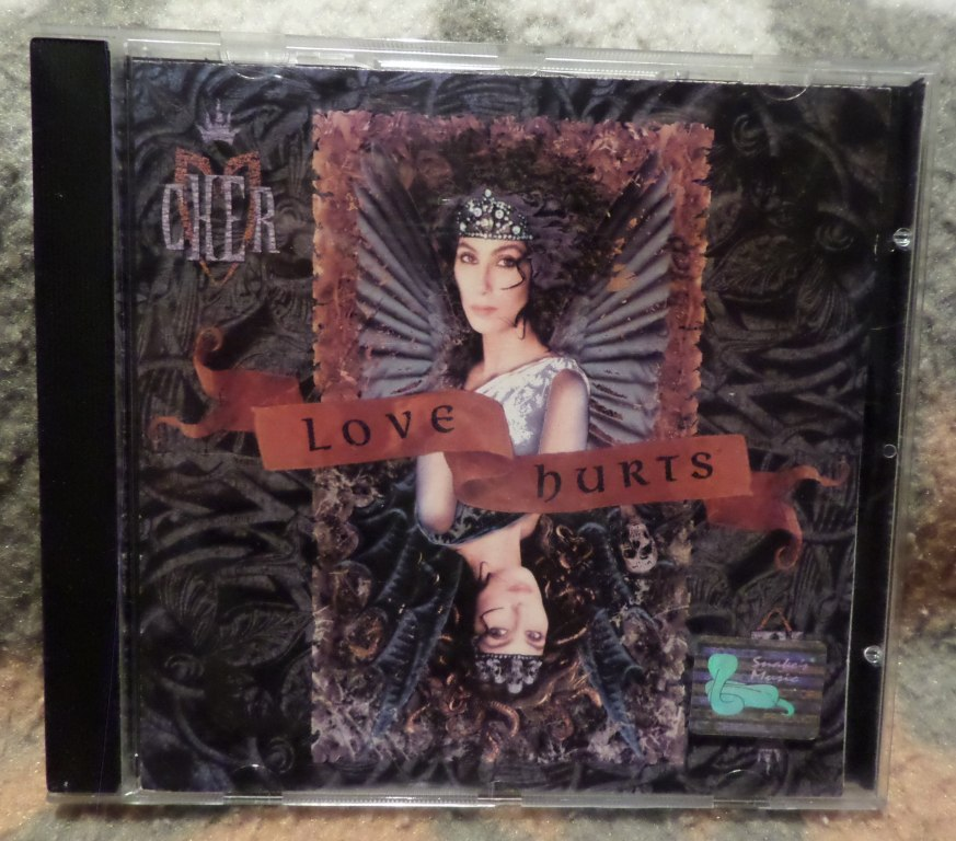 CHER Love Hurts 1991 Geffen Made in Germany