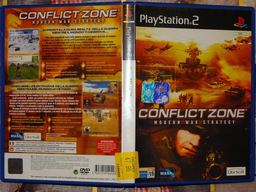 + Conflict Zone + gra strategiczna na konsola PS2