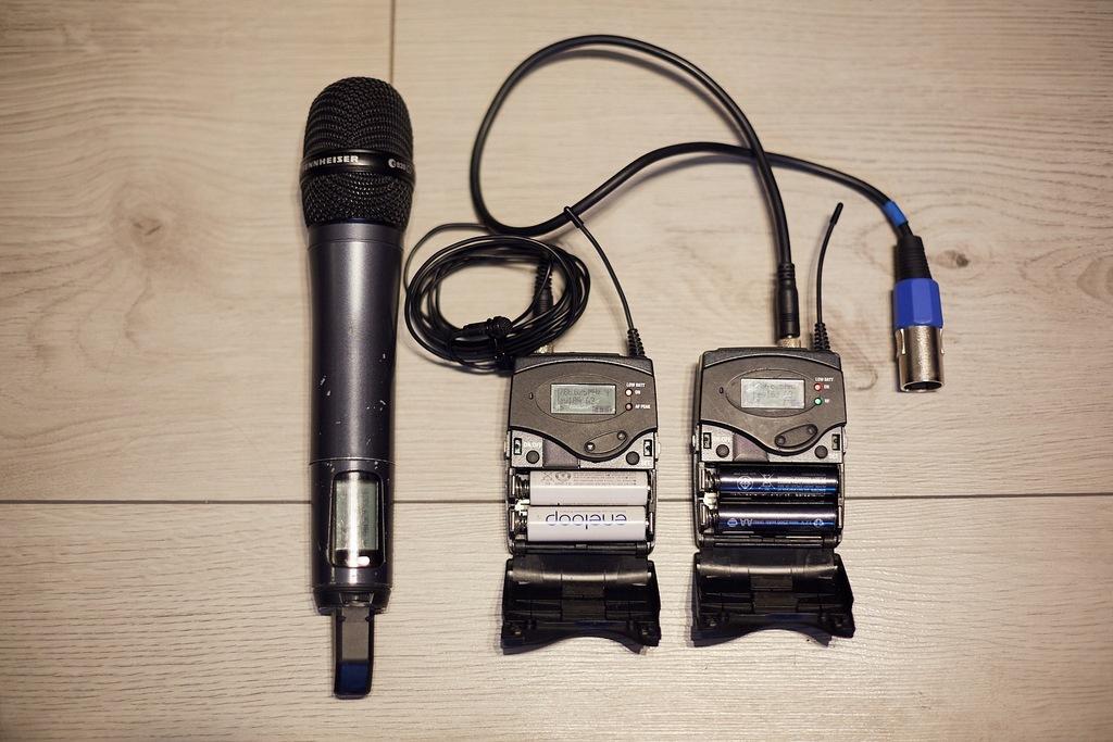 Mikroporty SENNHEISER EW100 G3 z mikr. ME2 i e835