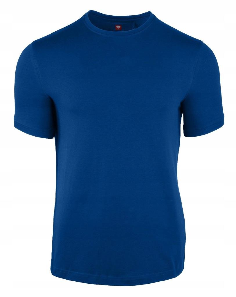 Koszulka Engelbert Strauss niebieski L