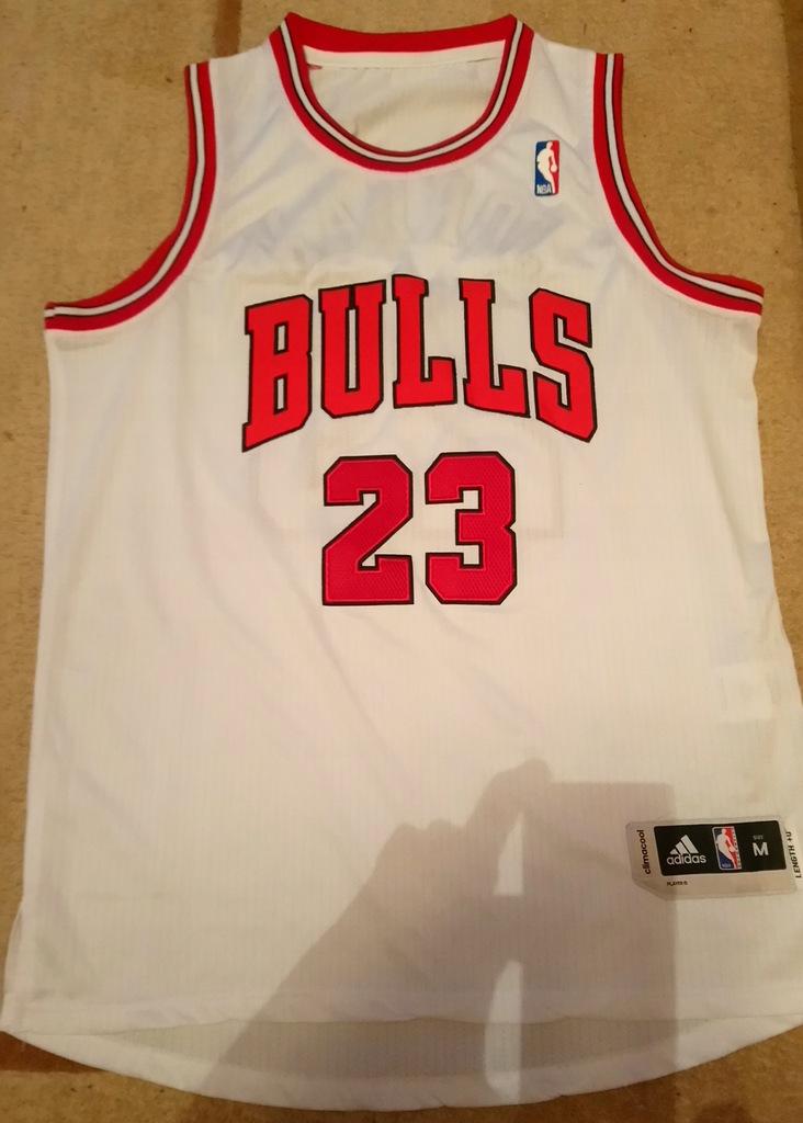 Michael Jordan CHICAGO BULLS koszulka NBA biała