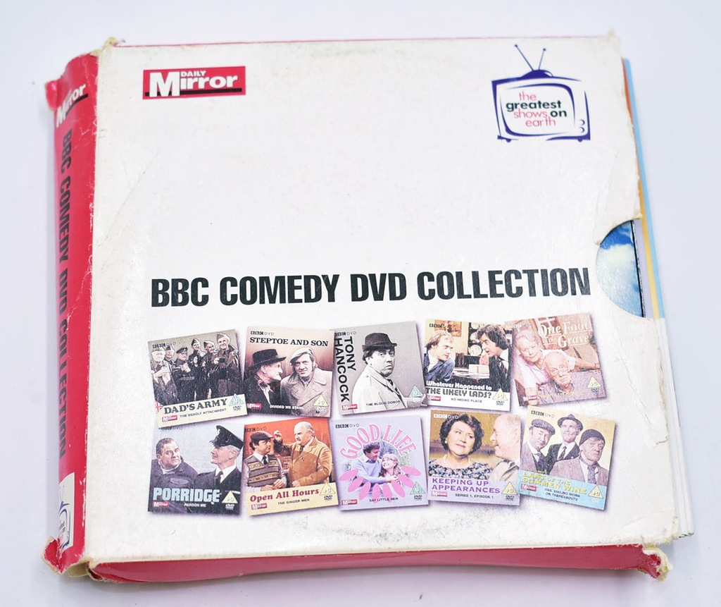 6341-82 ...OPEN ALL HOURS FAWLTY TOWERS... k#o DVD