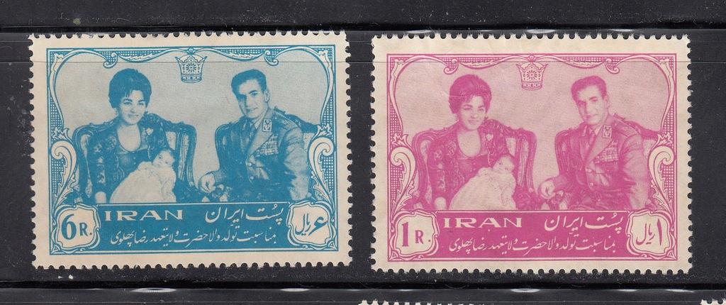 IRAN MI 1099-1100 KORONACJA seria czyste