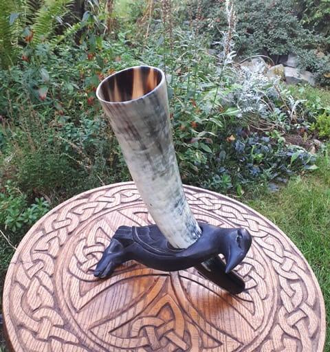 Róg sygnałowy 36,5 cm polerowany Wanaheim