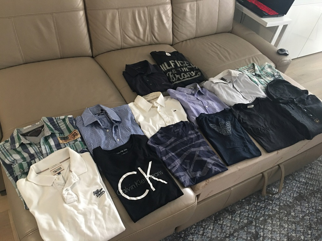 Mega paka Calvin Klein Armani Hilfiger Boss Guess