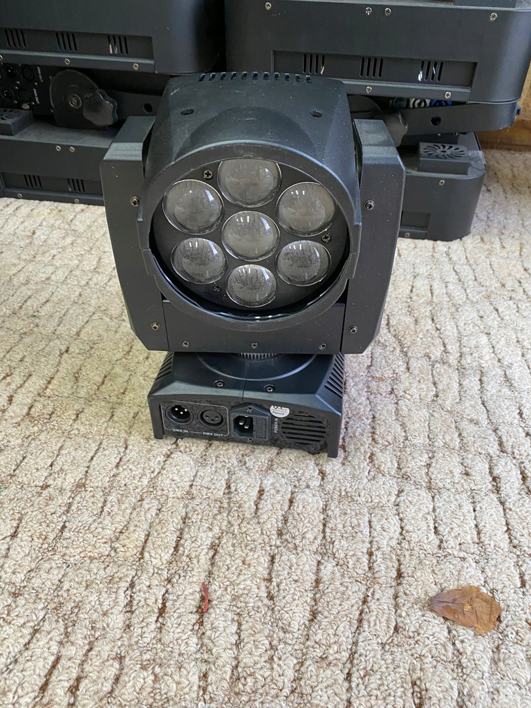 LIGHT4ME MINI ZOOM WASH 712 , 7x12W