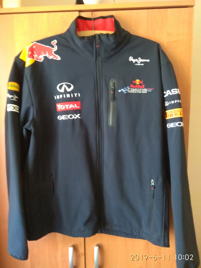 Red Bull Racing F1 Team Bluza męska z tak Teamline Infiniti