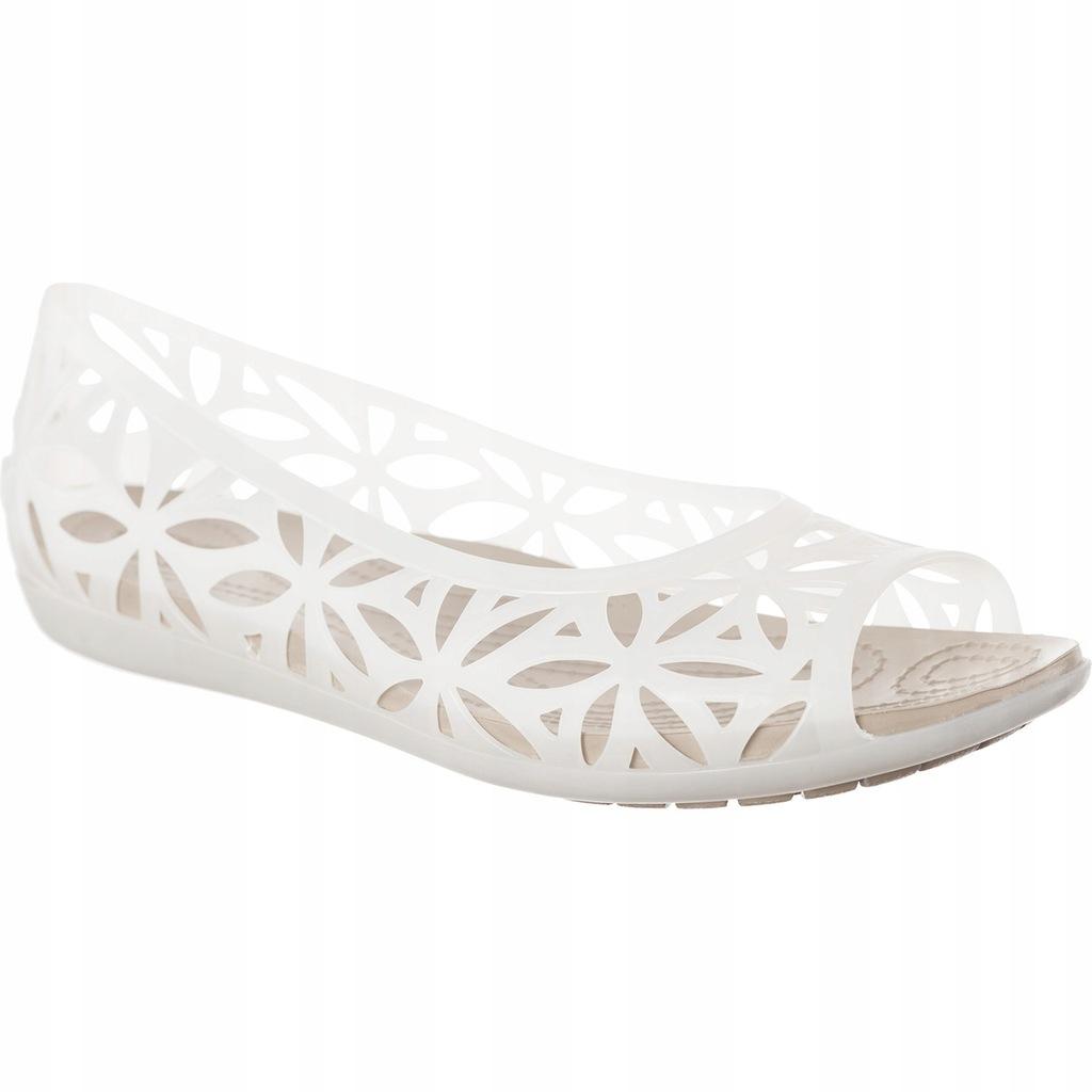 sandały crocs isabella jelly ii flat