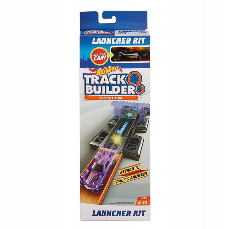 Hot Wheels. FPF03 Track Builder. Zestaw z wyrzu...