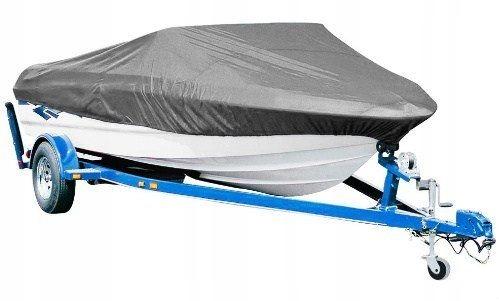 Pokrowiec na łódź 4,6-5,3m odporny poliester 85g/m