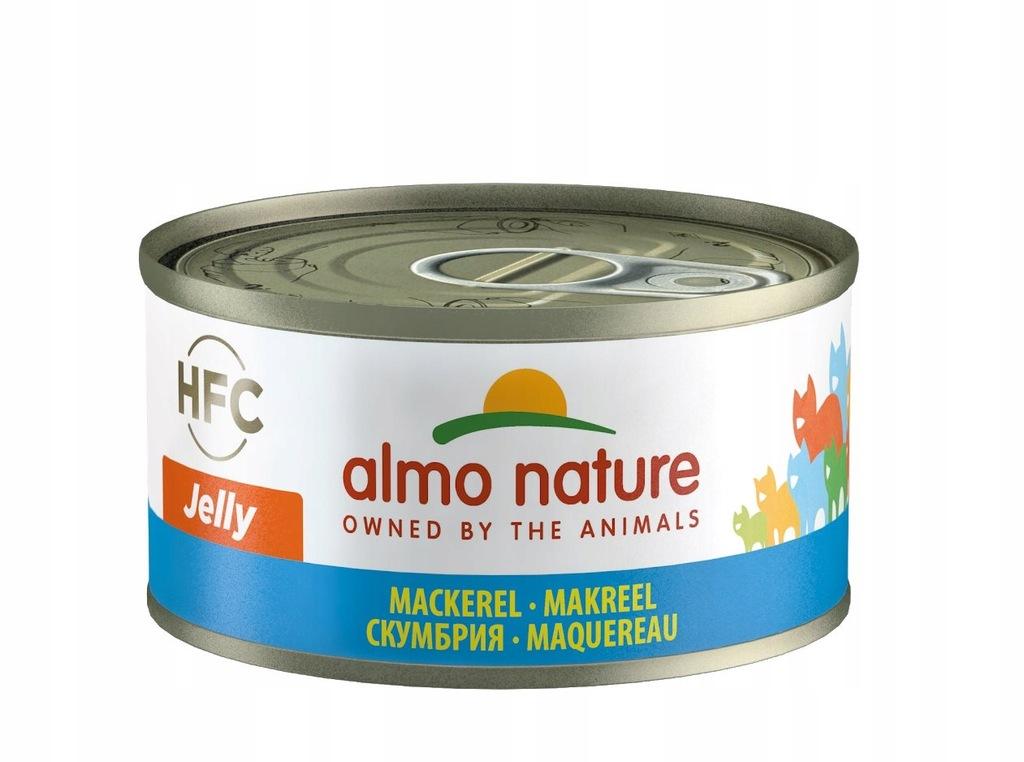 ALMO NATURE HFC Jelly makrela 70 g karma dla kota