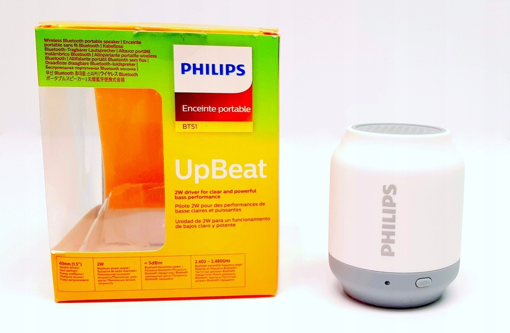 Głośnik bezprzewodowy BT Philips BT51 A