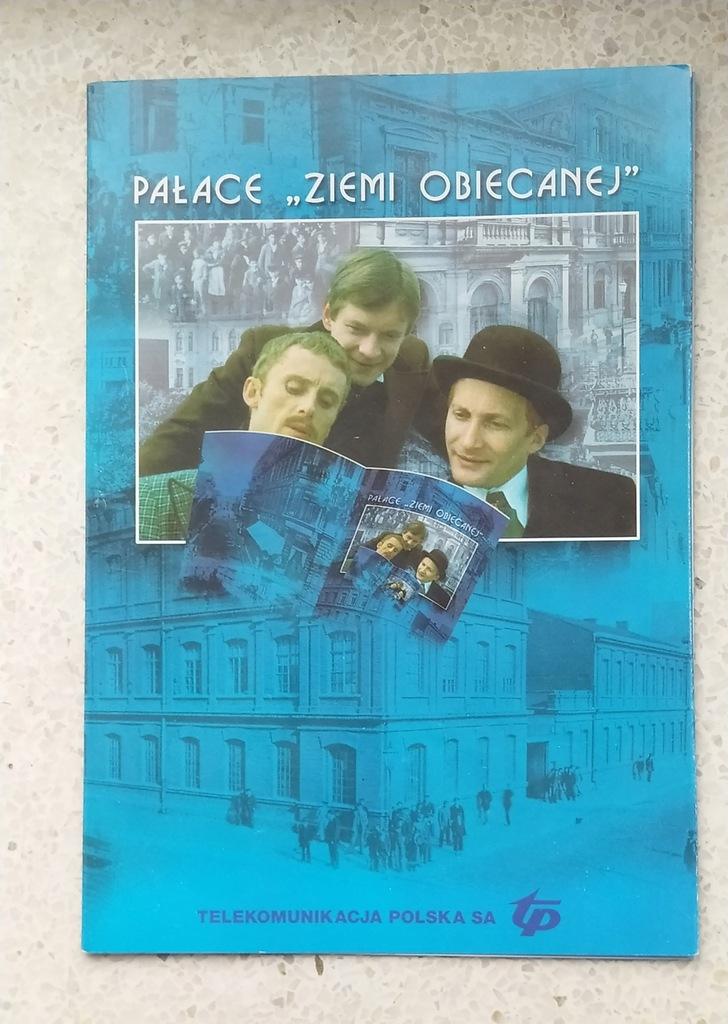 """karnet + karty pałace """"ziemi obiecanej"""""""