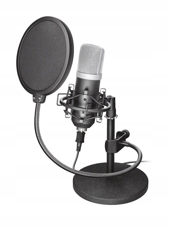 Mikrofon studyjny Trust Emita Studio USB Filtr BOX