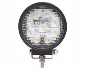 LAMPA ROBOCZA LED 27W 1620Lm ROZPROSZONA 12/24V