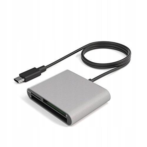 KabelDirekt czytnik kart USB-C SDXC SDHC SD MMC