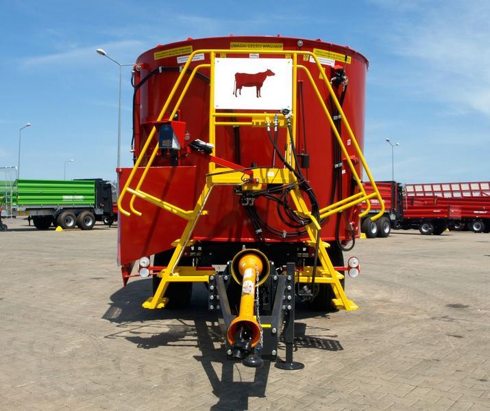 Wóz paszowy METAL-FACH T659 BELMIX OPTIMAL 5m3