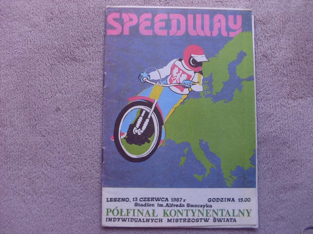 1987 Leszno Półfinał Kont. IMŚ - czysty