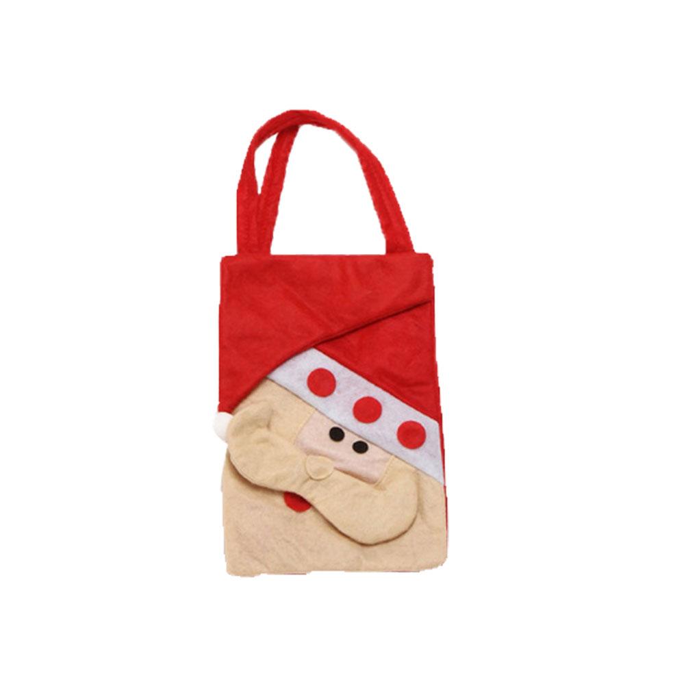 Kreatywna torba z grubej bawełny Elementy świątecz