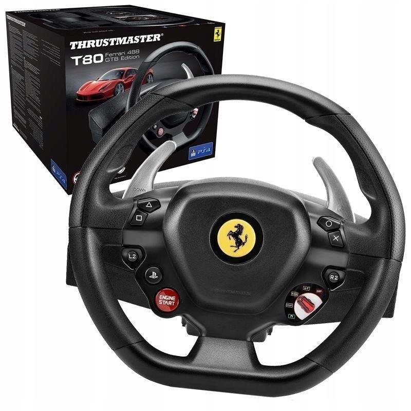 Thrustmaster Kierownica T80 Ferrari 488 GTB Editio