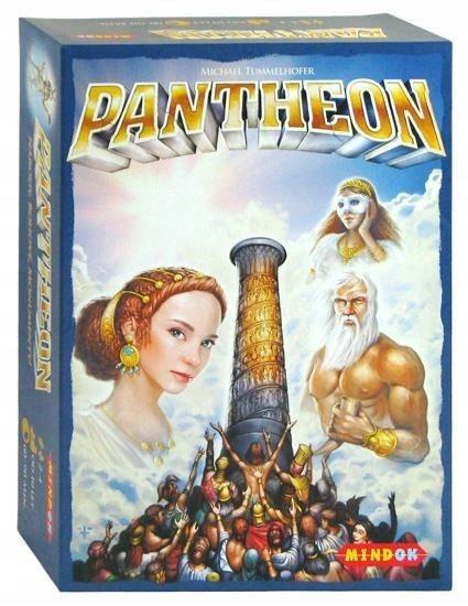 PANTHEON Gra STRATEGICZNA Planszowa Cywilizacje