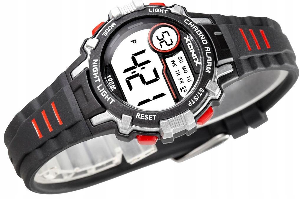 Sportowy Dziecięcy Zegarek XONIX WR100m Nieduży