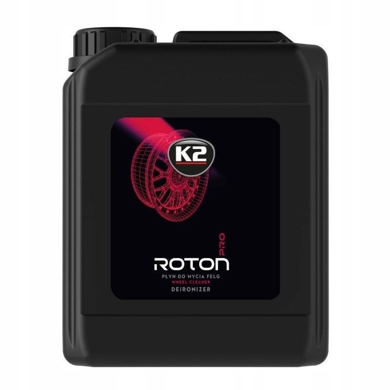 K2 ROTON PRO 5L Żelowa krwawa felga do mycia felg
