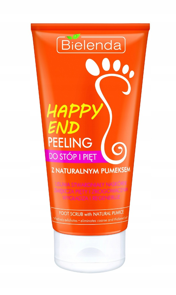 Bielenda Happy End Peeling do pięt i stóp z natura