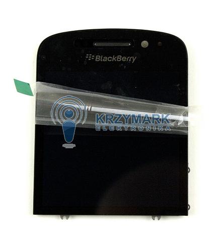 +DOTYK WYŚWIETLACZ EKRAN LCD BLACKBERRY CZARNY Q10
