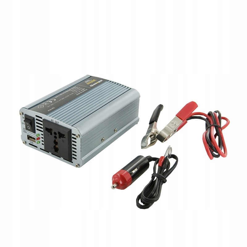 Przetwornica AC/DC 350W 12V/230V z USB 06579