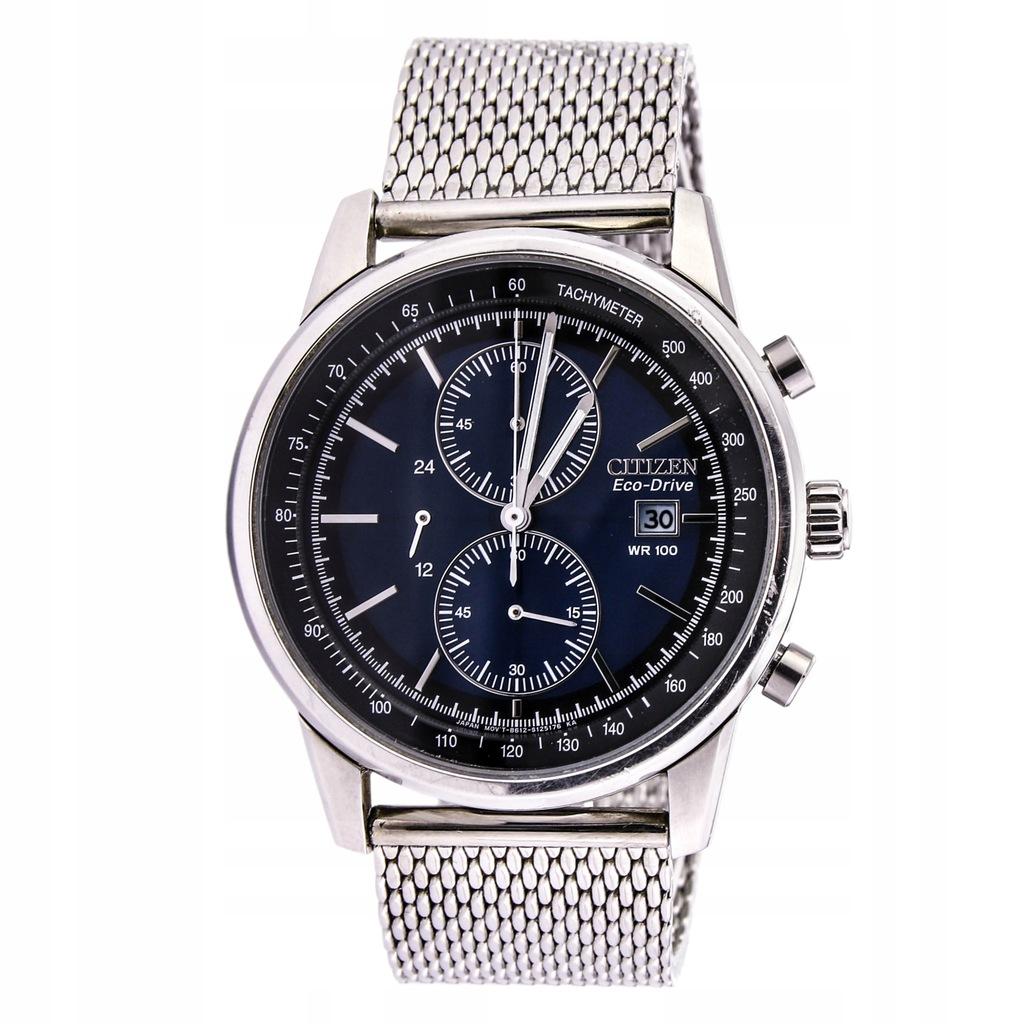 Zegarek CITIZEN CA0331-56L SOLAR męski chronograf