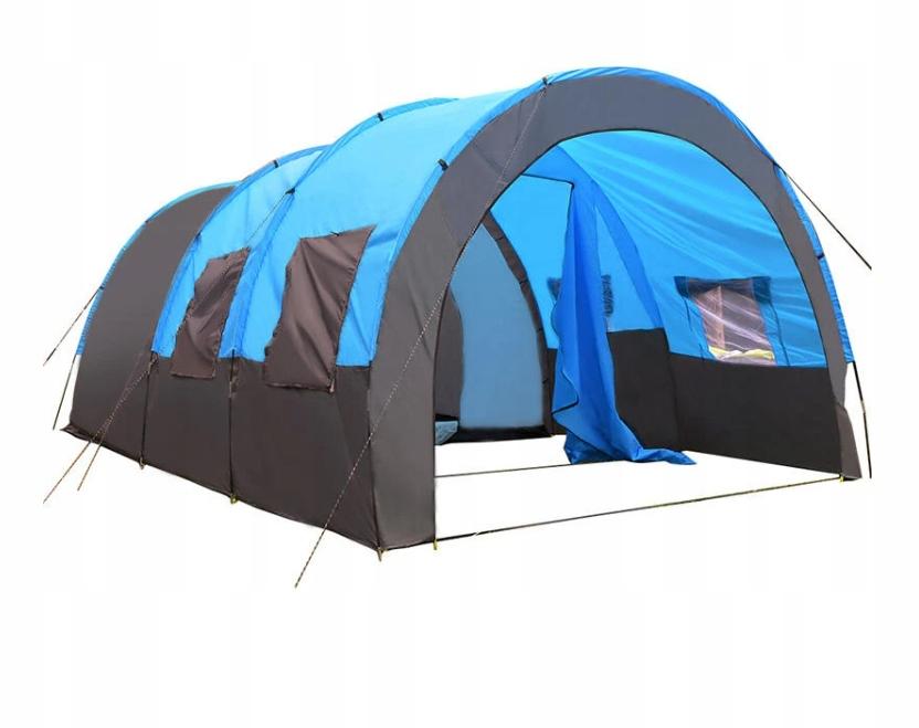 Duży namiot 2 pokojowy + hol - dla 10 osób- OKAZJA