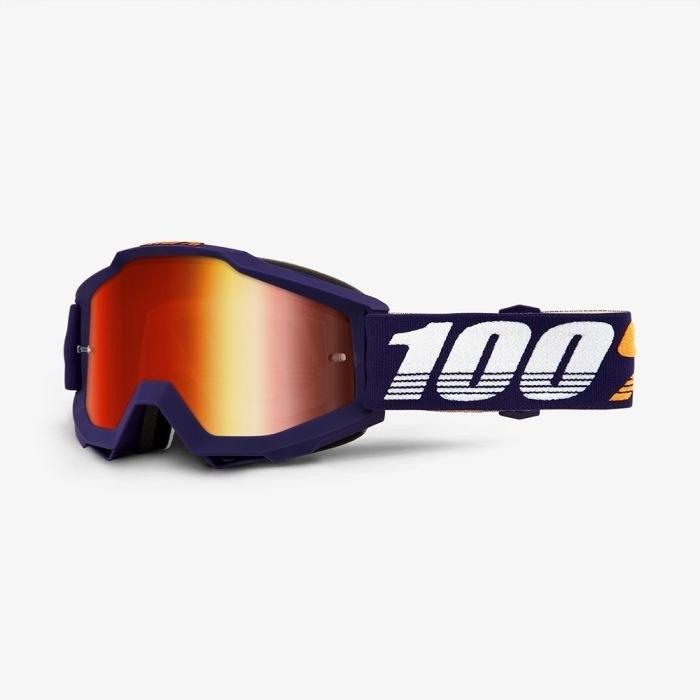 100 PROCENT GOGLE ACCURI GRIB CZERWONE LUSTRO + DO