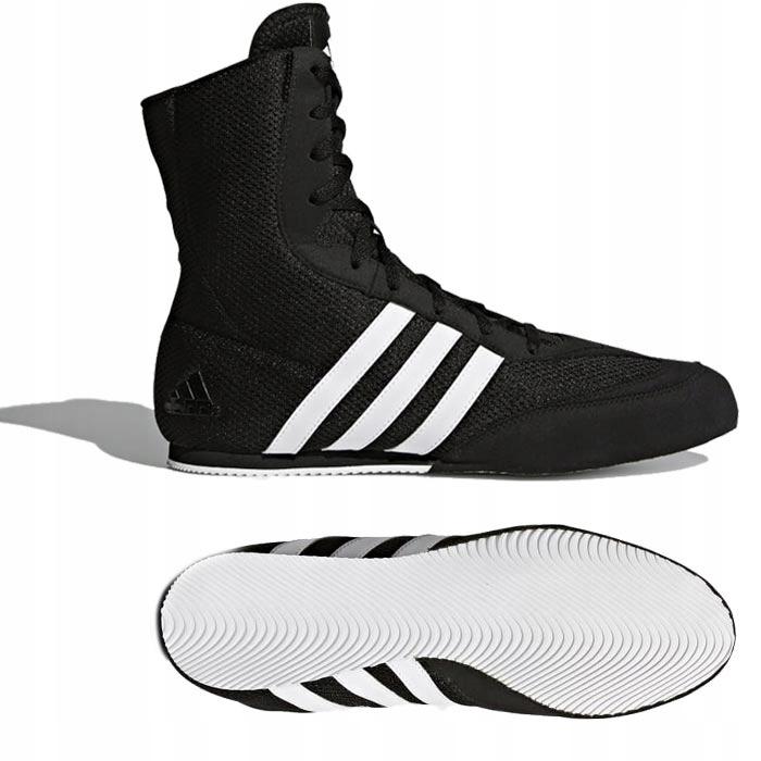 Adidas BOX HOG 2 Buty Bokserskie Czarne 40