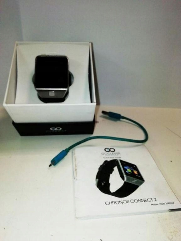 SMARTWATCH GOCLEVER CHRONOS CONNECT 2-OPIS!