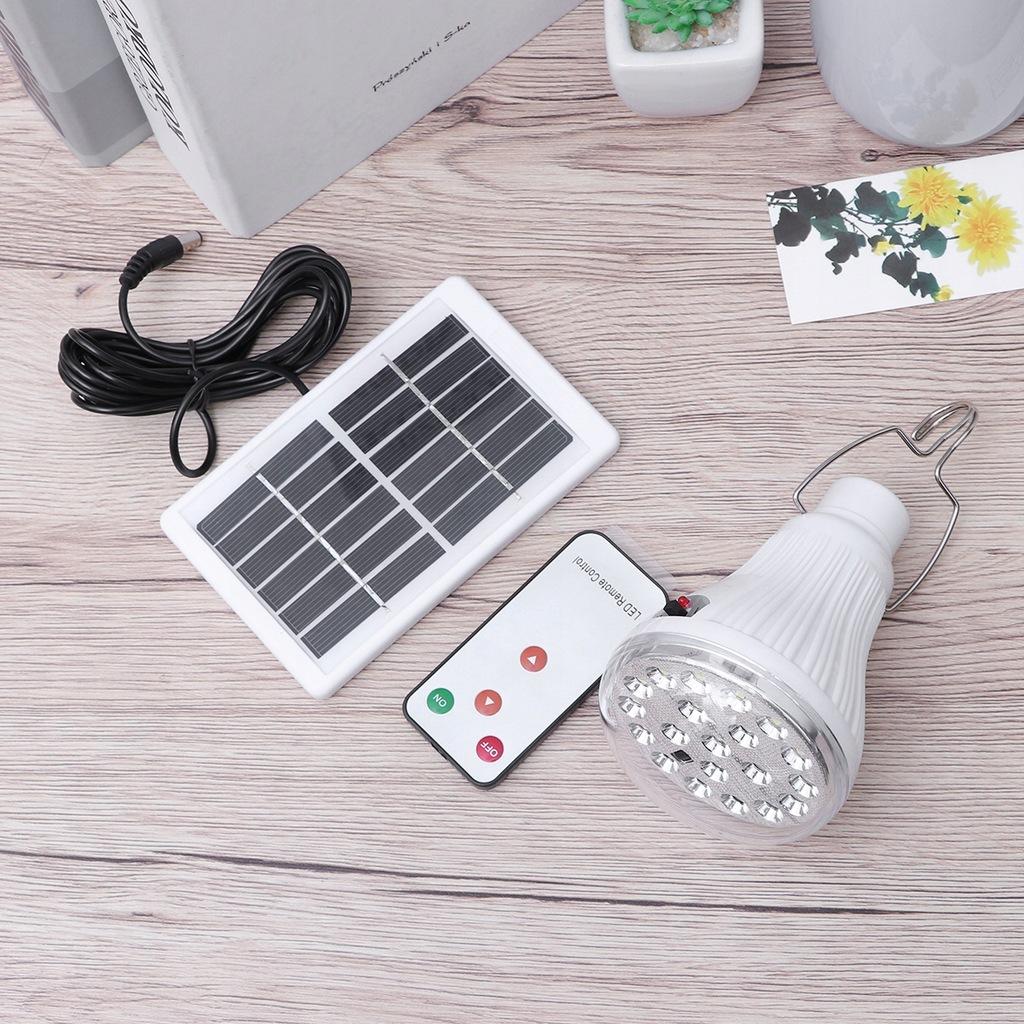 Solar Power Lamp Prosta praktyczna lampa oświetlen