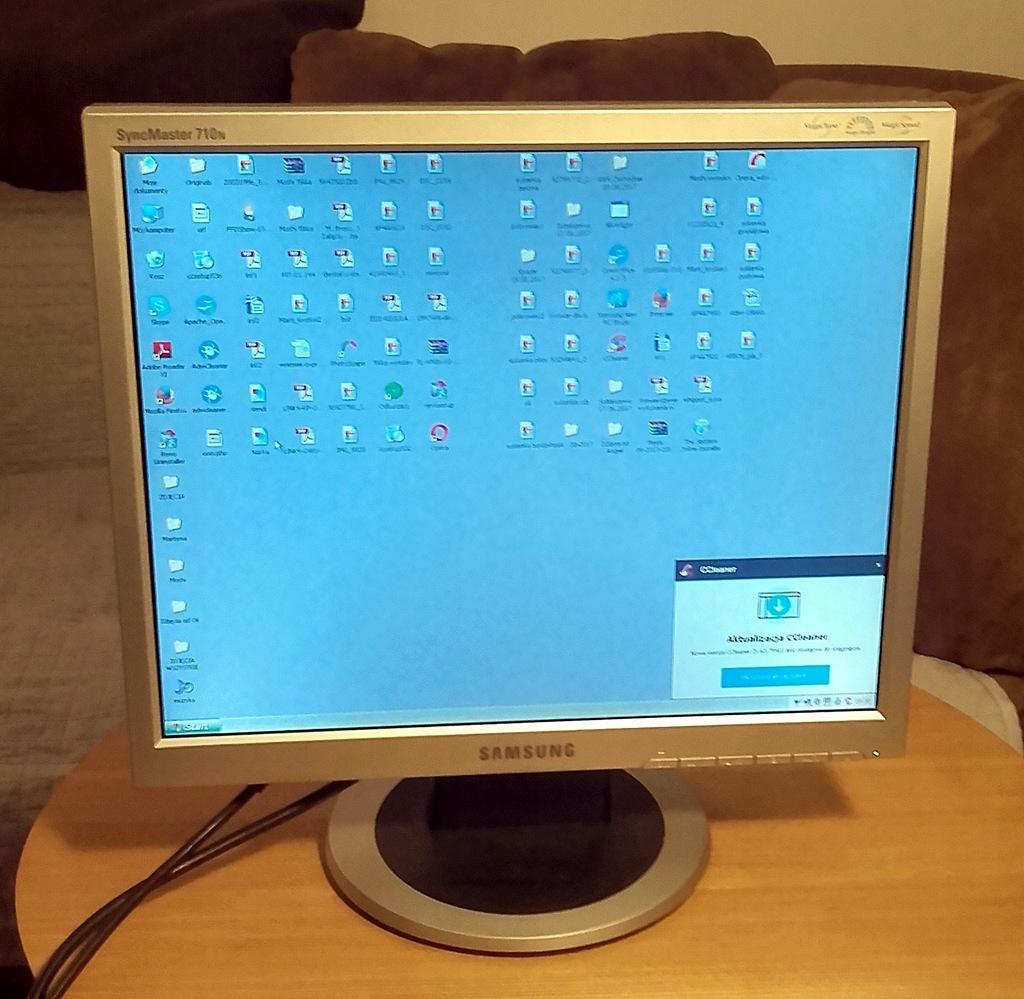 monitor lcd Samsung 710N