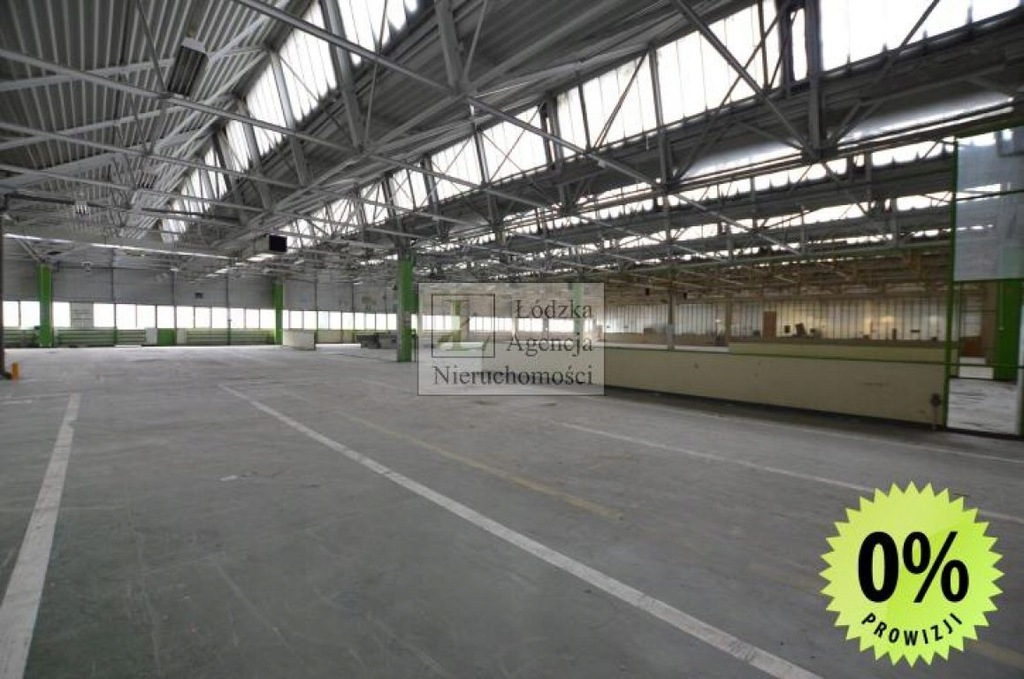 Magazyny i hale, Łódź, Bałuty, Teofilów, 3024 m²