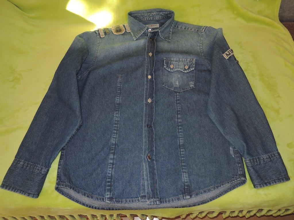 Koszula jeansowa męska - BIG STAR - L