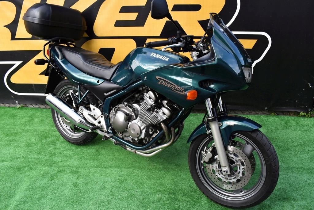 Yamaha Xj 600s Diversion 2000 Kufer Gwarancja Raty 8292047296 Oficjalne Archiwum Allegro