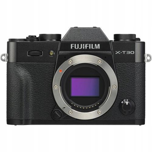 FUJIFILM X-T30 BODY CZARNY 4K nowy gw