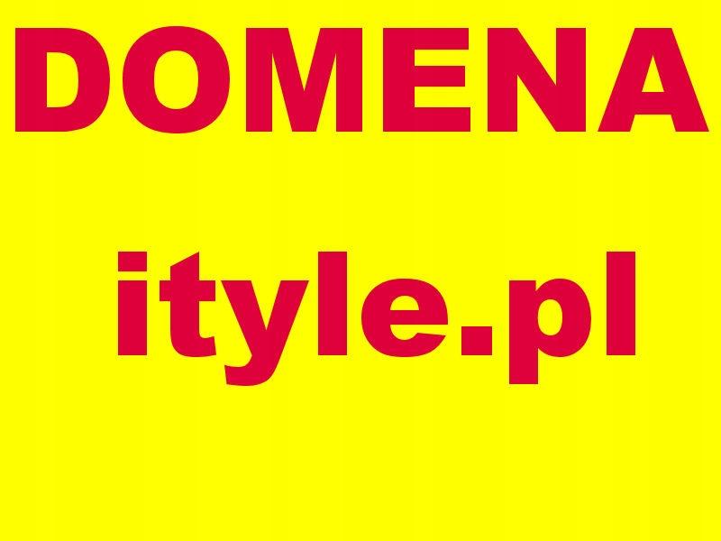 Domena www.ityle.pl nie zostawaj w tyle i tyle pl