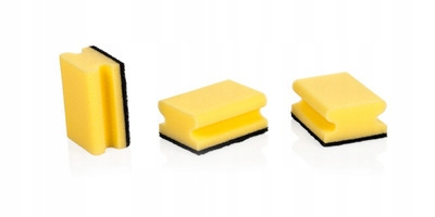 TESCOMA Gąbki kuchenne CLEAN KIT z uchwytem, 3 szt