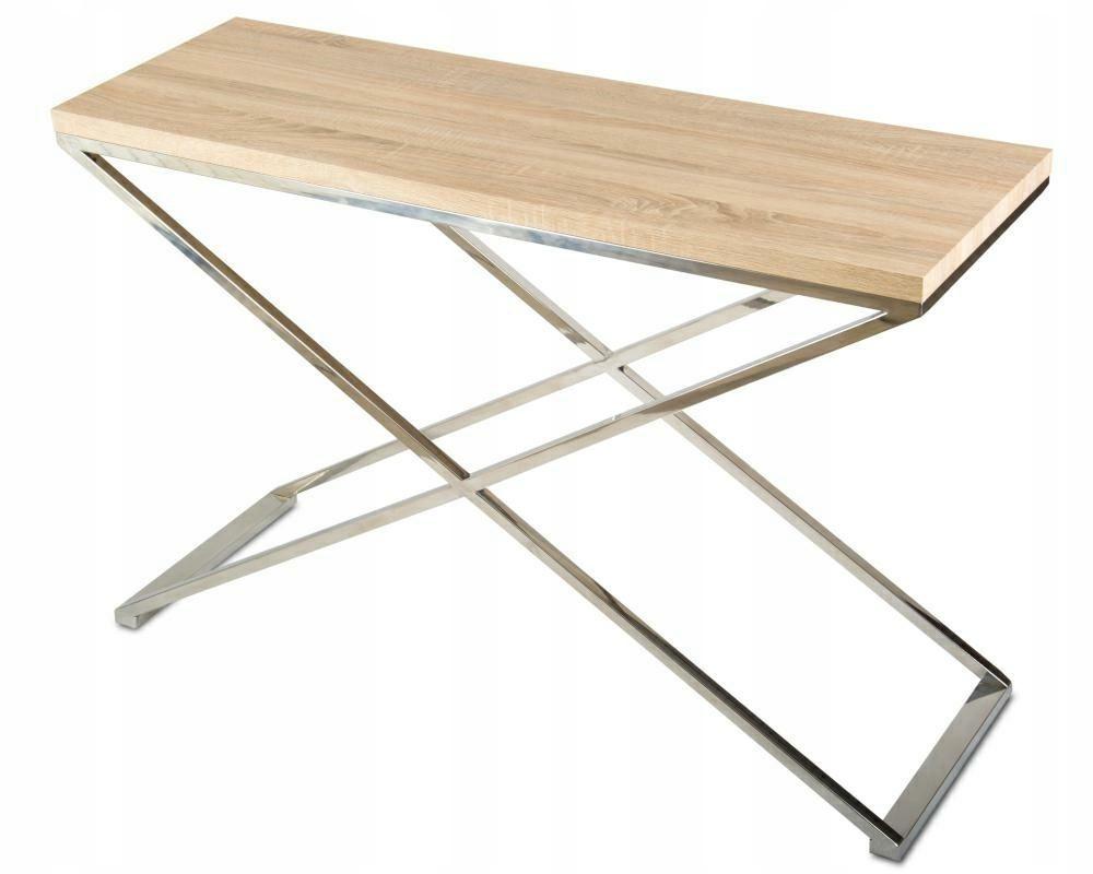 Konsola stolik podstawa stal nierdzewna 120x40x78