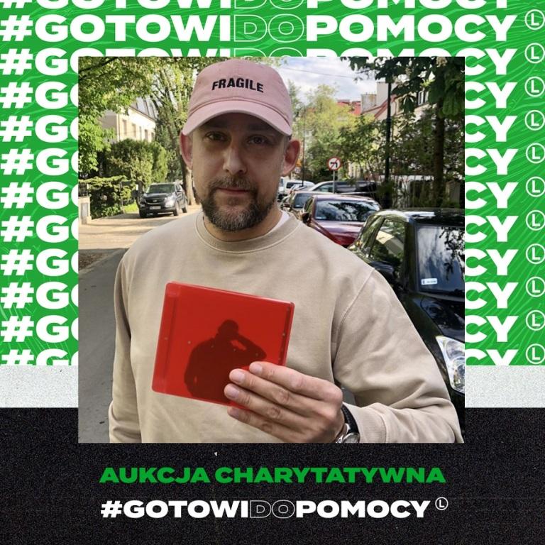 """Wojtek Sokół"" - płyta Sokoła z autografem"